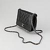 Chanel, a black leather 'mademoiselle' handbag, 2016-2017.