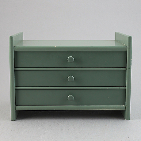 Carl malmsten, a pinewood 'visingsö' bookcase/cabinet, second half of the 20th century.