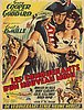 A vintage movie poster, gary cooper, 'les conquerants d'un nouveau monde', belgium, 1940's/50's.