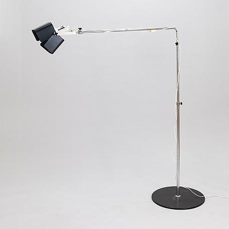 Yrjö kukkapuro, a 1960's '100 g' floor lamp for haimi.