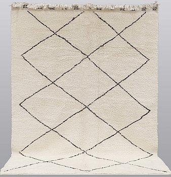 A Moroccan carpet, 287 x 213 cm.