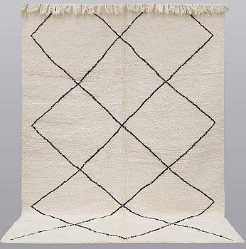 A Moroccan carpet, 290 x 210 cm.
