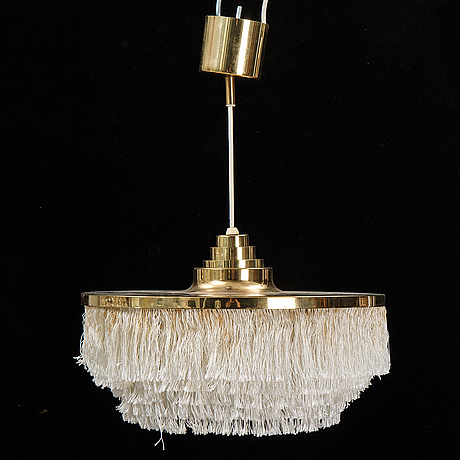 A pendant light by hans-agne jakobsson, markaryd, 1960's/70's.