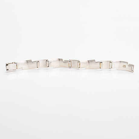 Armband, sterling silver. lapponia 1988.