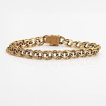 An 18K gold bracelet. Lars Rosengren, Stockholm 1957.