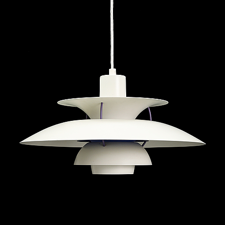 """Poul henningsen, ceiling lamp, """"ph 5"""", louis poulsen, denmark."""
