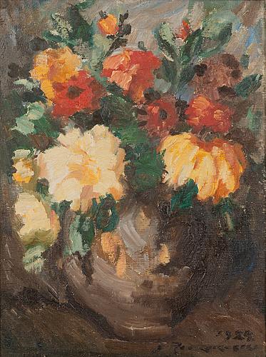 Jalmari ruokokoski, oil on canvas, signed and dated 1924.