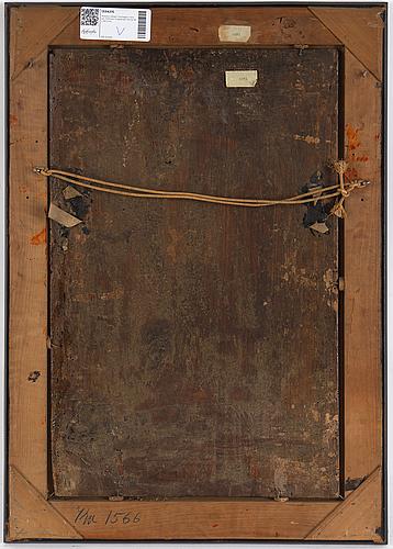 Antonio allegri correggio, in the manner of. 18th century. unsigned. panel 58 x 36.5 cm.