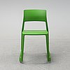 Edward barber & jay osgerby, a set of nine 'tip ton' chairs from vitra.