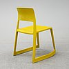 Edward barber & jay osgerby, a set of six 'tip ton' chairs from vitra.