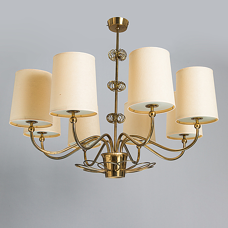 Paavo tynell, a 1952 chandelier for taito.