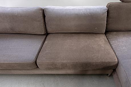 Ihreborn, sofa with divan, contemporary.