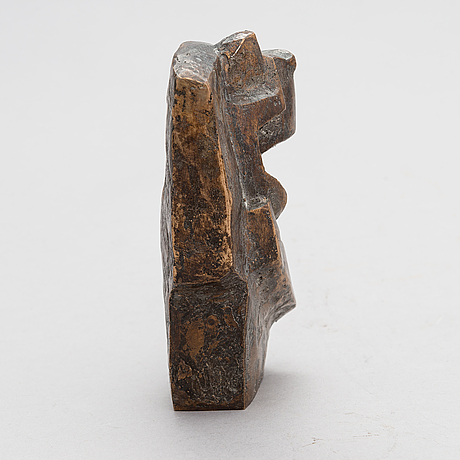 Maarit nissilä, sculpture, signed and dated -96.
