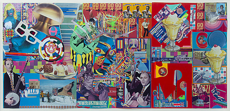 Andrey bartenev, collage and mixed media in acrylic box. executed in 2007.