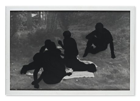 Maria miesenberger, photograph signed and numbered 3/3 on verso.