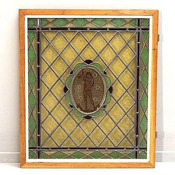 A leaed window early 1900s.