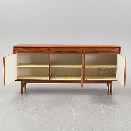 A scandinavian teak sideboard, 1960s.