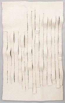 Airi Snellman-Hänninen, taidetekstiili signeerattu Airi Snellman-Hänninen 1986.