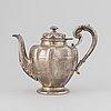 Teapot silver, mexico, 1900's.