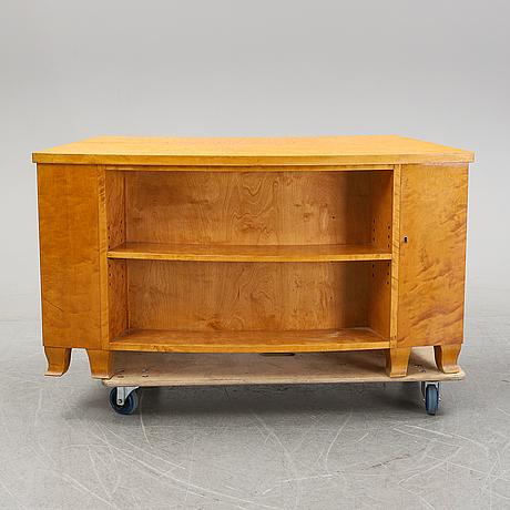 A swedish birch desk, 1940s.