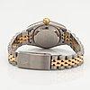 Rolex, oyster perpetual, datejust, armbandsur, 26 mm.