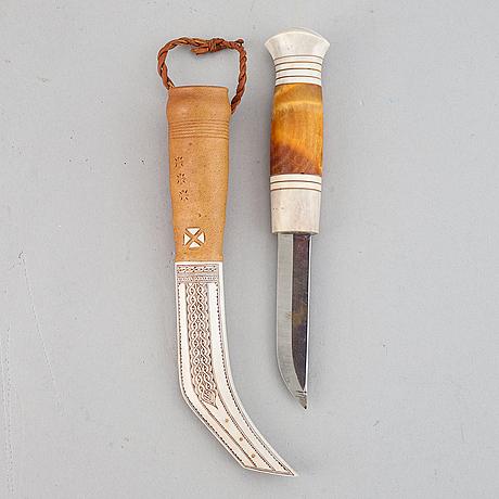 Lennart sammelin, samekniv, signerad ls.