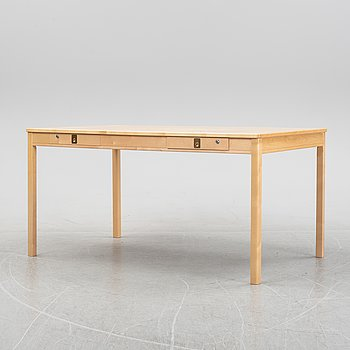 Göran Malmvall, a birch writing desk, Bröderna Andersson, second half of the 20th Century.