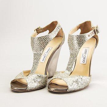 Jimmy Choo, shoes, wedge heel, size 40.