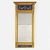 A swedish empire mirror, early 19th century.