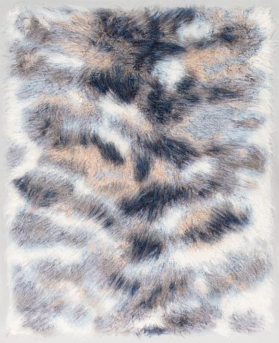 Hanna-kaisa korolainen, a 'amur' rug signed and dated 2017. circa 140 x 110 cm.