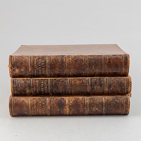 "The von wright brothers, three volumes ""svenska fåglar"", börtzells tryckeri ab, stockholm 1927-1929."