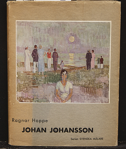 Johan johansson, oil on canvaas signed and dated 18.