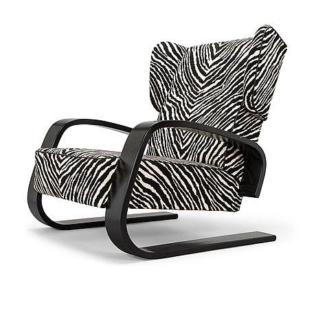 Alvar aalto, a 2008 'tank' chair for artek.