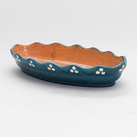 Alfred william finch, serving bowl, around year 1900 by iris finland.