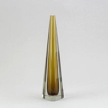 Kaj Franck, glass sculpture, Nuutajärvi/Notsjö, signed and dated - 62.