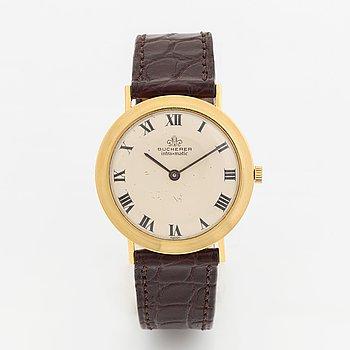 Bucherer, Intra-Matic, wristwatch, 34 mm.