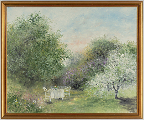 Inge pettersson, oil on canvas, signed and dated 1993.