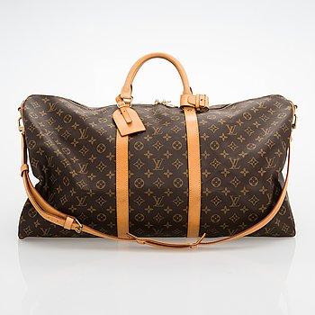 "Louis Vuitton, ""Keepall 60 Bandoulière"", laukku."