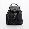 Gucci, backpack.