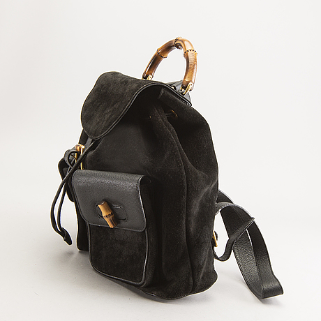 A gucci back pack.