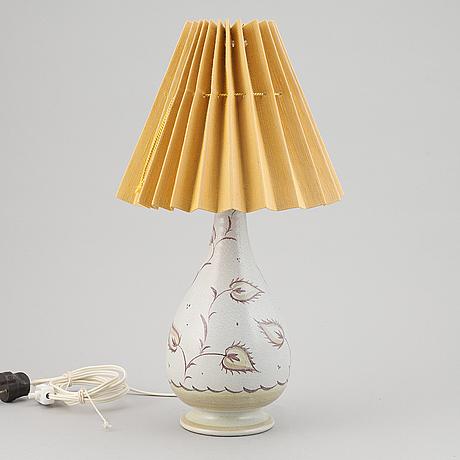 Eva jancke björk, a ceramic table light, bo fajans.