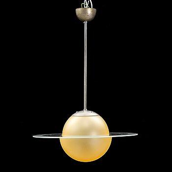 A 1930's/40's 'Saturn' pendant light.