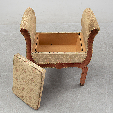 Otto schulz, attributed to, a 1930's stool for boet, sweden.