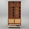Alf svensson, a teak bookcase, bjästa snickerifabrik, 1960's.