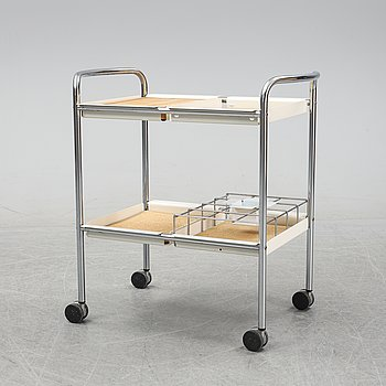 A drink trolley, second half of the 20th century.