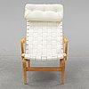 Bruno mathsson, a 'pernilla' easy chair from bruno mathsson international.