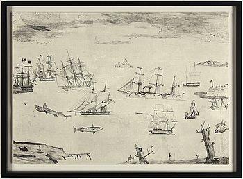 Jockum Nordström, lithograph, signed 109/250.