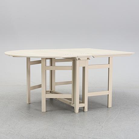 A 'bergslagen' gate leg table, ikea.