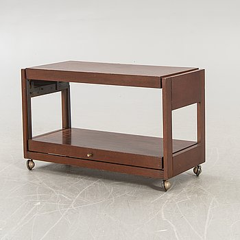 Serving trolley / side table, folding, 1960s-70s.