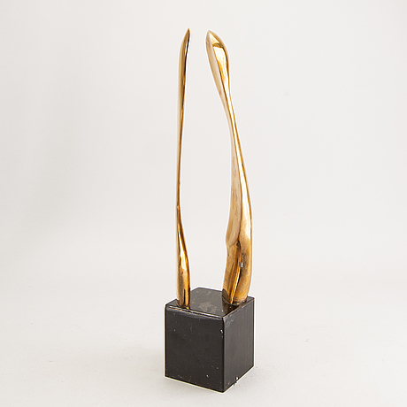 Tommy berglund, a bronze sculpture signed and dated 1991.